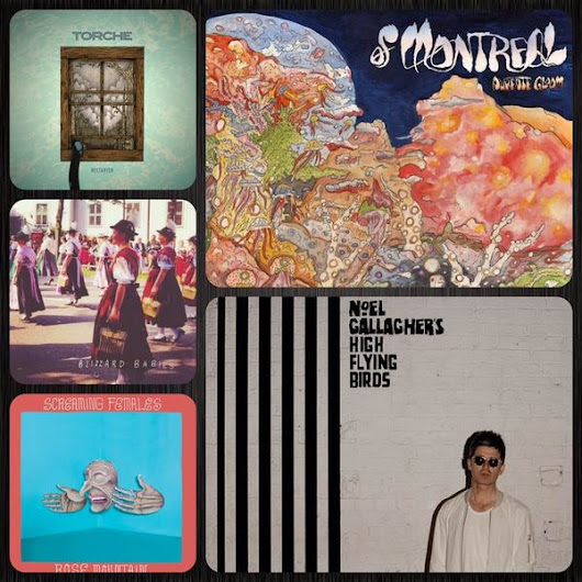 New & Recent 3/3- OF MONTREAL! NOEL GALLAGHER! SCREAMING FEMALES! TORCHE! BLIZZARD BABIES