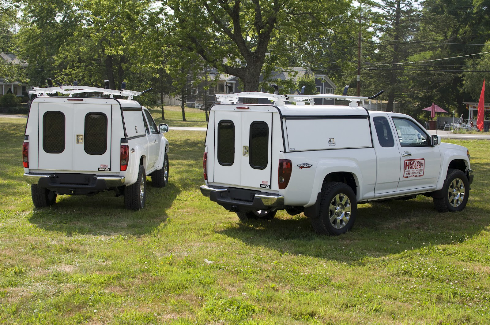 Two 2012 GMC Canyon Pickup Trucks with new ARE DCU Truck ...