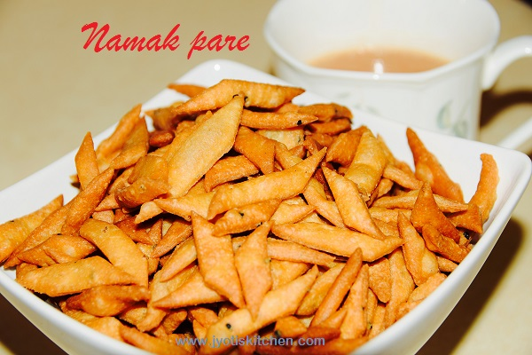 Namak Pare Recipe with step by step photo