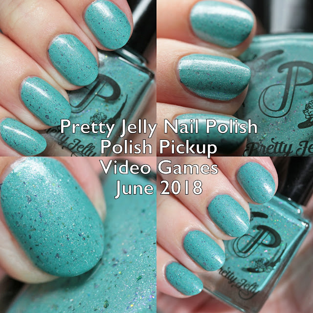 Pretty Jelly Nail Polish Polish Pickup Video Games June 2018