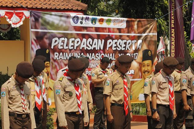 Raimuna Nasional Kontingen Daerah Jawa Timur