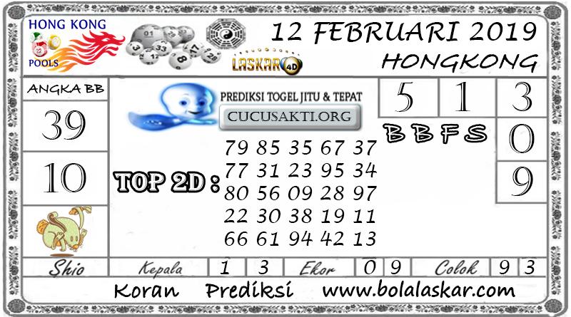 Prediksi Togel HONGKONG LASKAR4D 12 FEBRUARI 2019