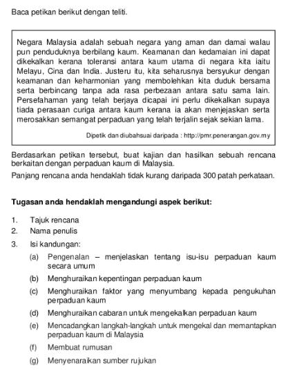 Panduan Menjawab Tugasan Kajian Kes Sejarah Pt3 Tahun 2014 Ciklaili