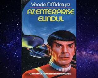 Az Enterprise elindul Star Trek könyv bemutatás, kritika