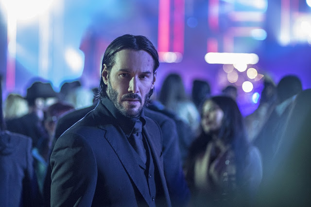 keanu reeves as john wick 2 movie still