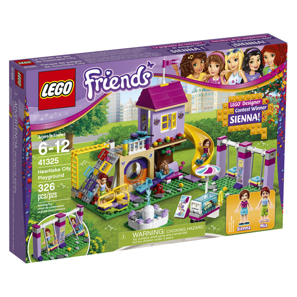 The Beginning Of This Year Celebrated LEGO Friends 5th Birthday And Hosted A Design Contest Winning Entry Is Siennas Playground 41325