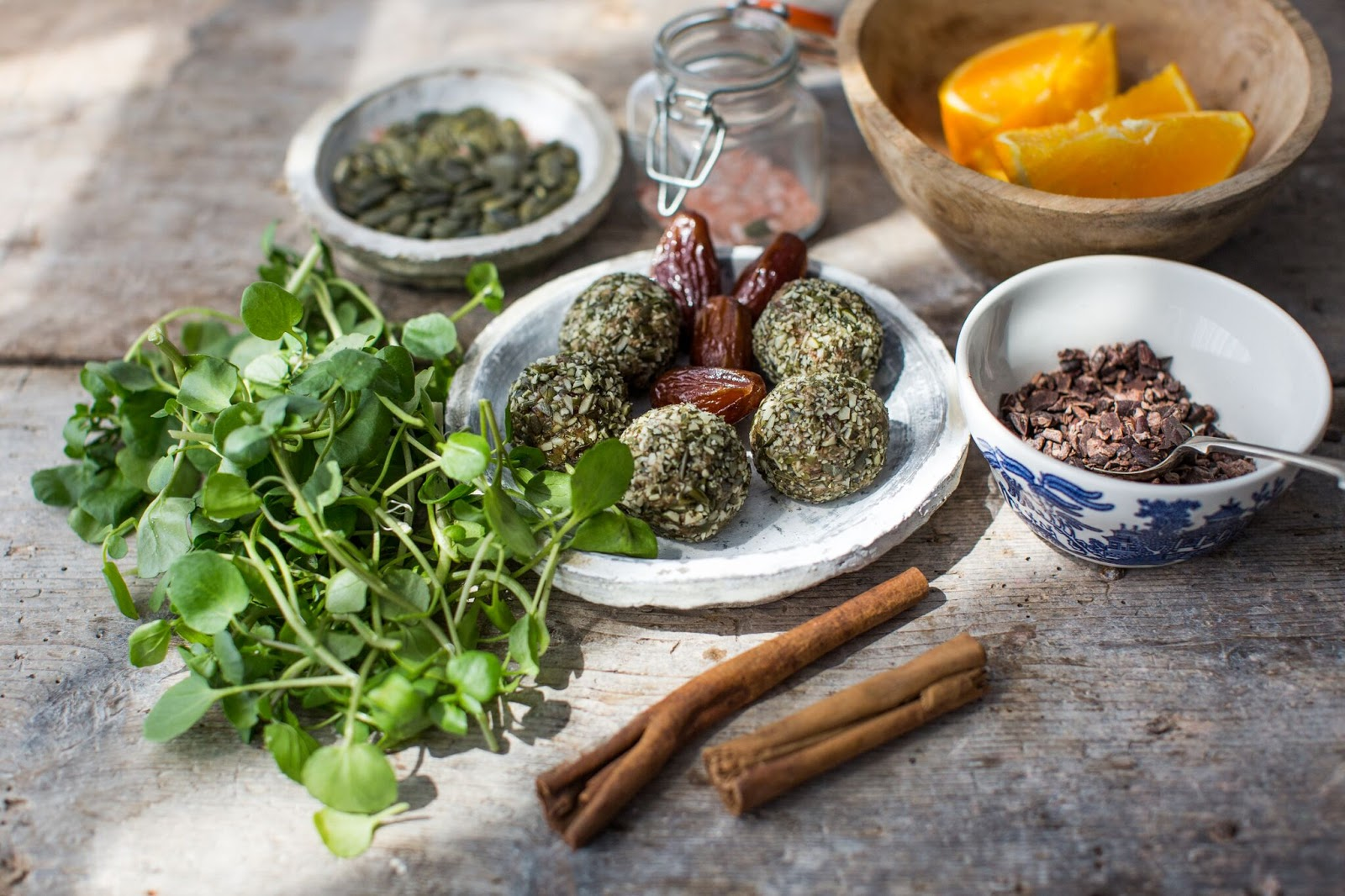 Watercress Power Balls