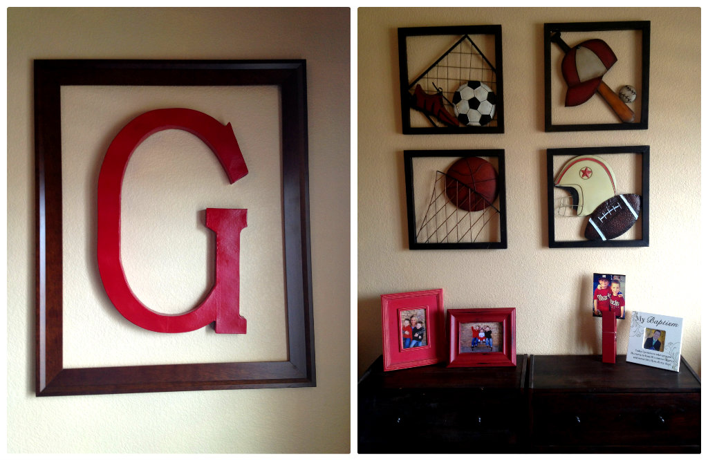 Marci Coombs: The Boys\' Sports Themed Bedroom.