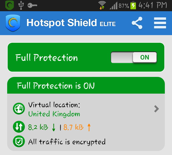 hotspot shield elite full version android