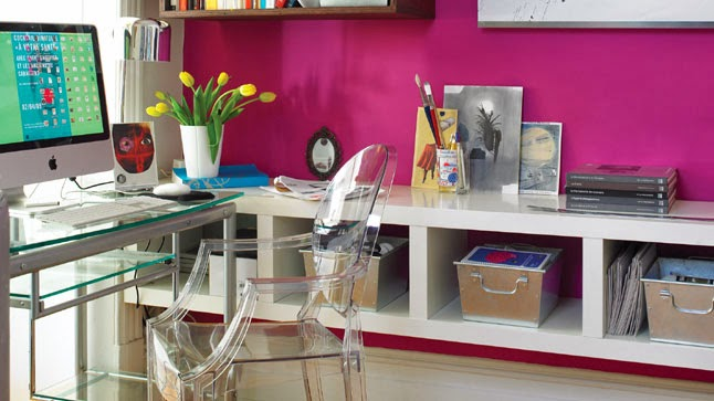 Decorar oficinas femeninas colores en casa for Decoracion de oficinas pequenas fotos