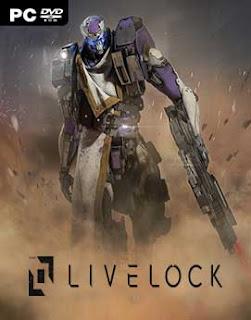 غلاف لعبة Livelock المحارب الداكي و المقاتلون الخمسة