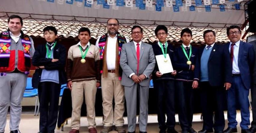 MINEDU: 4 escolares de Huancavelica obtuvieron los mejores puntajes en la «XV Olimpiada Nacional Escolar de Matemáticas» ONEM 2018 - www.minedu.gob.pe
