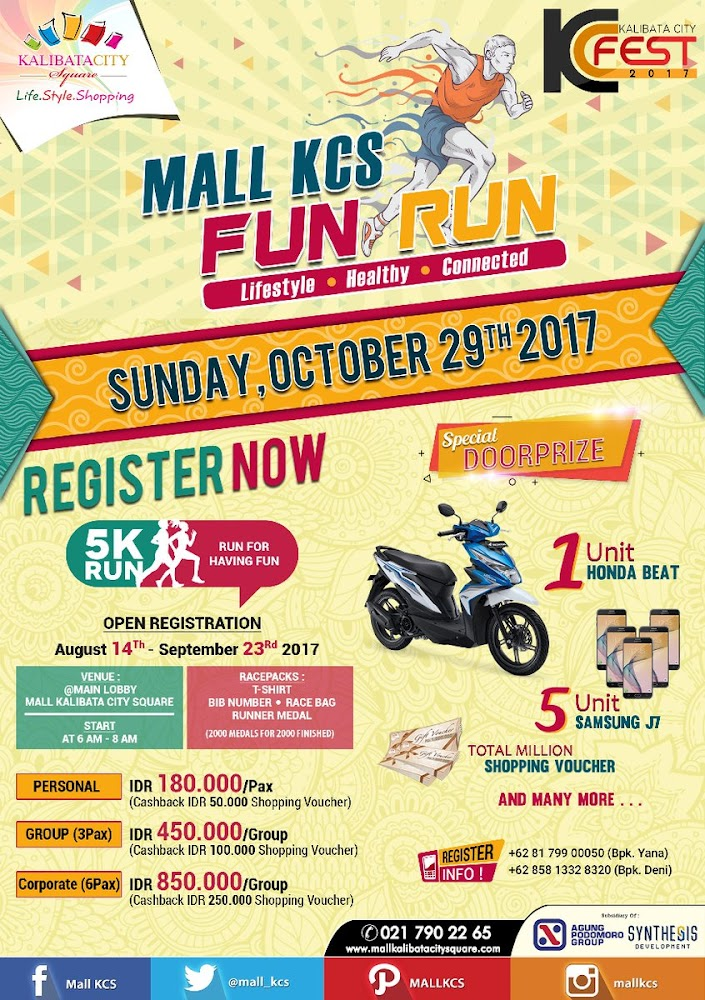 Mall KCS Fun Run • 2017