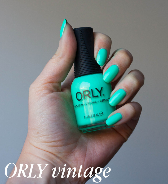 Orly Melrose vintage review