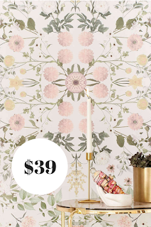 Urban Outfitters Floral Wallpaper