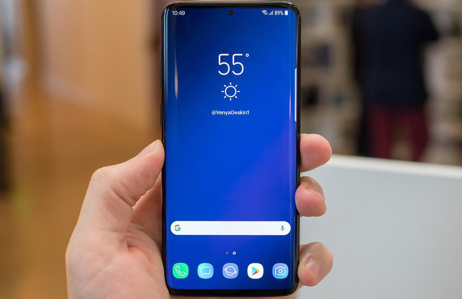Photos reveal the expected design of the next Samsung Galaxy S10