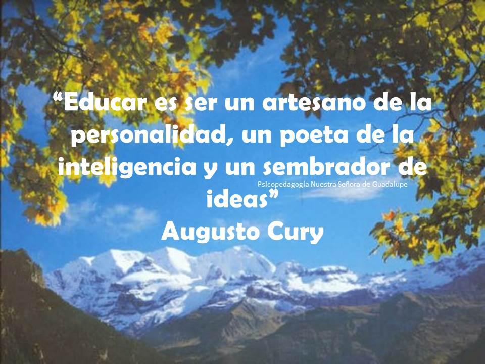 Frases De Augusto Cury Sobre Educação