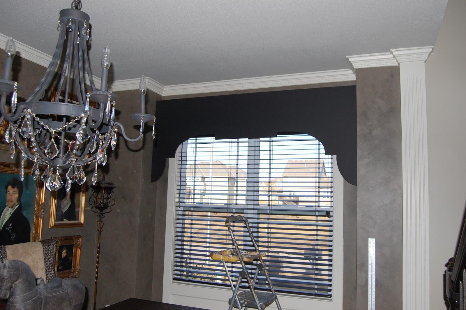 Kcfauxdesign Com Diy Decorative Window Cornice