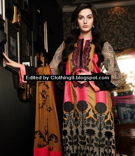 Firdous eid chiffon collection 2015