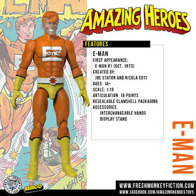 Fresh Monkey Fiction Amazing Heroes Reborn Action Figure Kickstarter