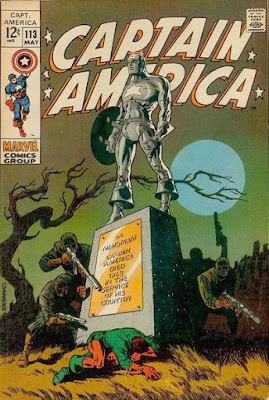 Captain America #113, Jim Steranko