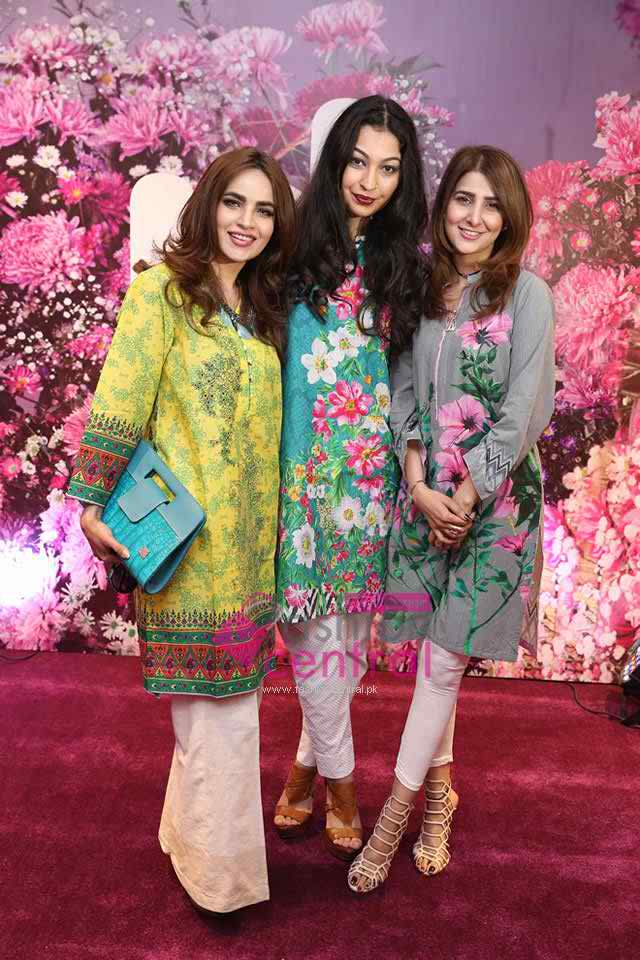 Nishat Linen Unveils Their Suummer Collection At karachi