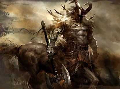 Centaur vs Minotaur fight to the death Who would win