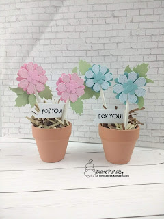 Flower Power a project by Diane Morales | Flower Trio Die Set by Newton's Nook Designs