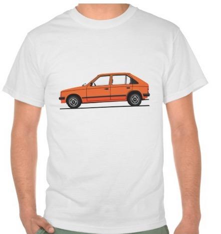 Opel Kadett t-shirt t-paita t-tröja