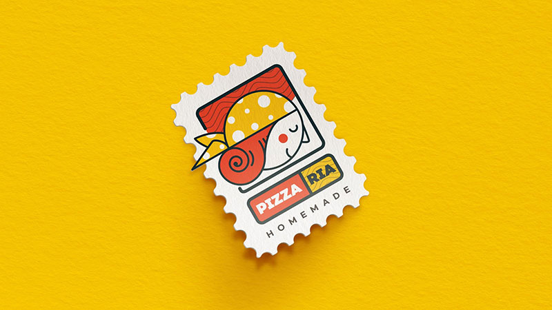 Pizzaria Branding by Bassem Amer