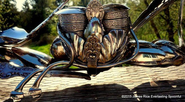 05-Jim-Rice-Chopper-Motorcycle-Sculptures-made-from-Spoons-www-designstack-co