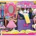 Barbie kapsalon, knippen, verven en wassen