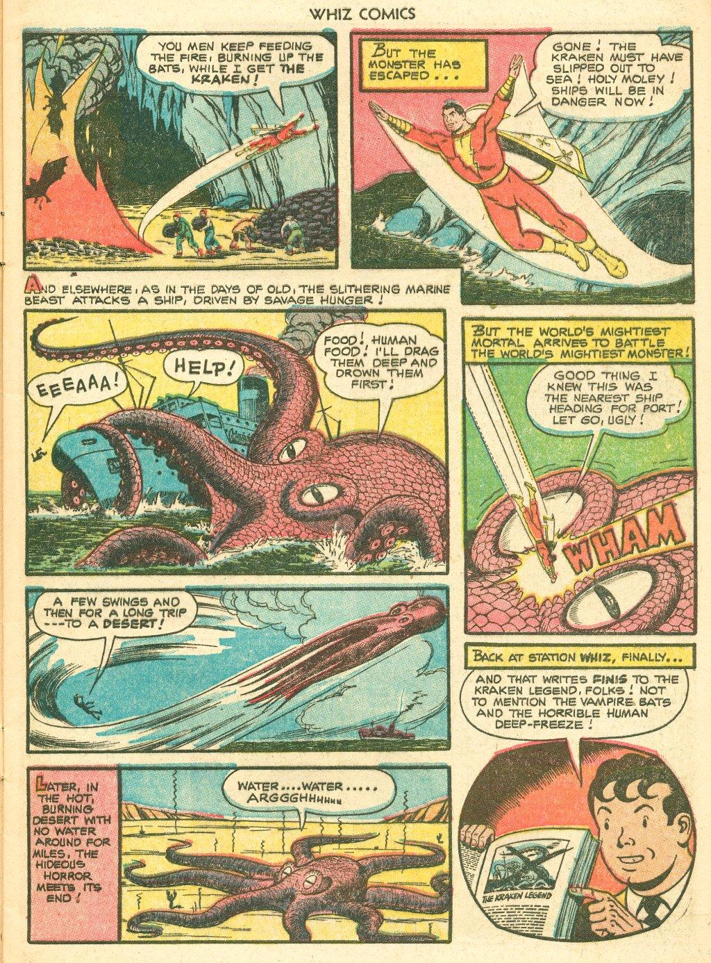 WHIZ Comics #155 #156 - English 9
