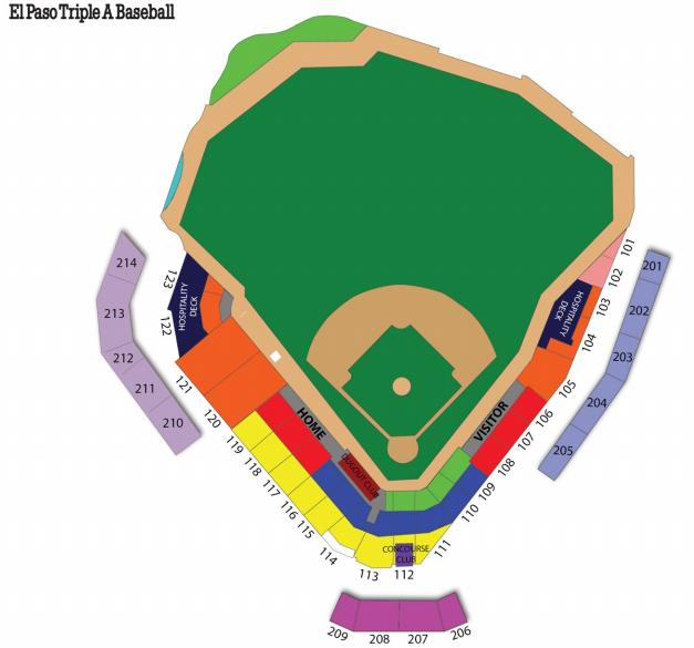 Only season ticket prices have been released and begin at for one an average of per game fans willing to purchase  five year package will also el paso development news mountainstar releases seating map rh elpasodevnews