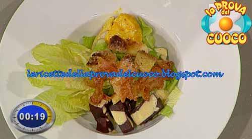 Caesar salad con barbabietole ricetta giampiero fava da la for Cucinare barbabietole