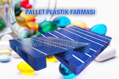Jual Pallet Plastik Untuk Aplikasi Industri Farmasi