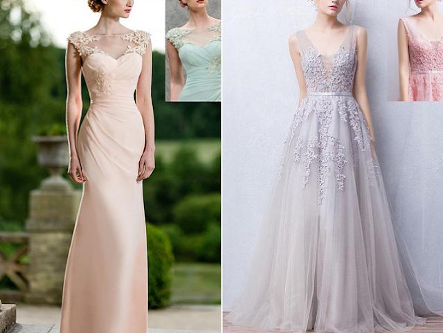 Long prom dresses UK