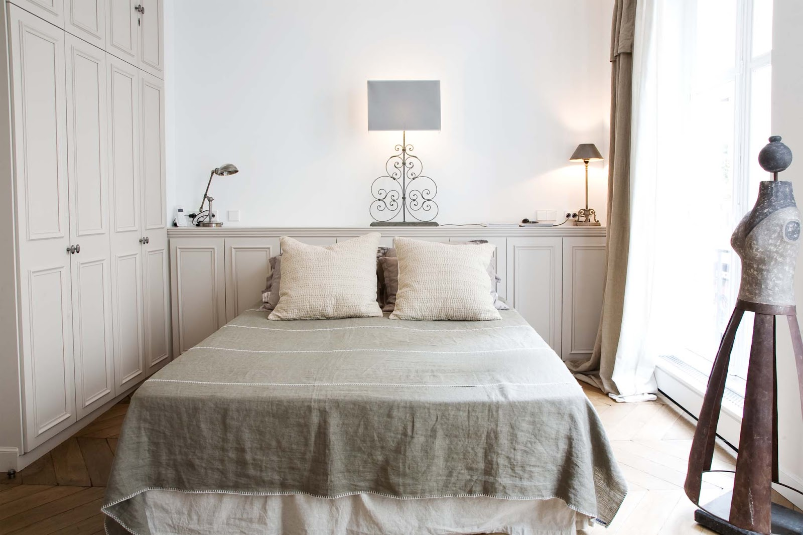 Home Tour: Paris Apartment Decor in the Marais