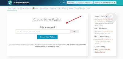 Tutorial Cara Membuat Ethereum (ETH) Wallet Pribadi Mudah dan Cepat