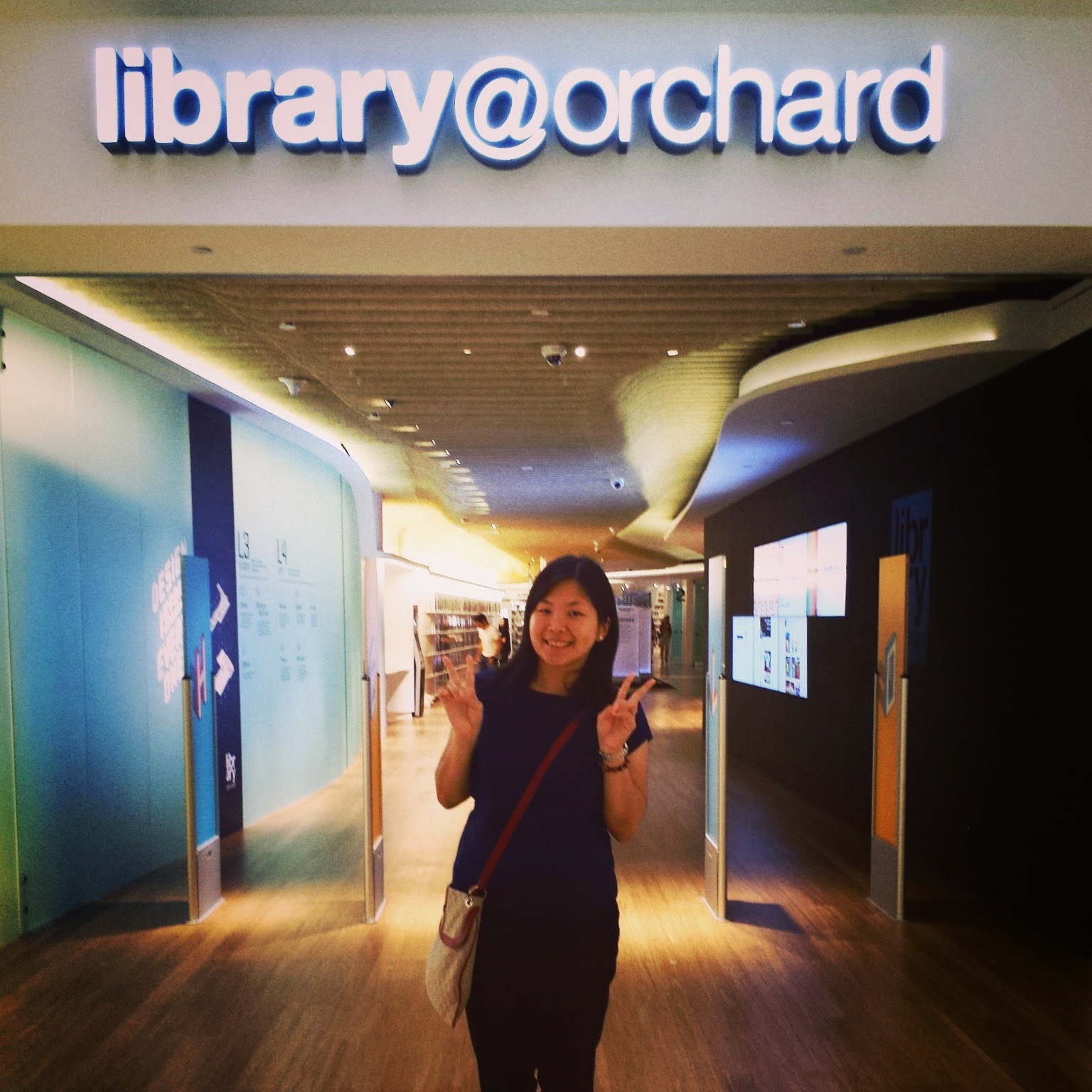 Overcome life: Library@Orchard