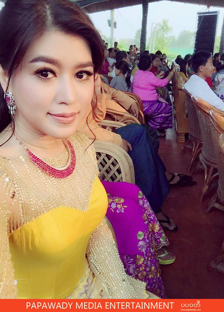 Eaindra Kyaw Zin Thingyan Day Fashion and Performance Snapshots in Myo Ma Mandut, Mandalay