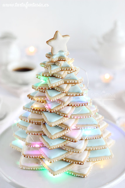 Tutorial árbol de Navidad de galletas