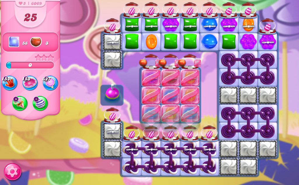 Candy Crush Saga level 6069