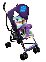 Kereta Bayi LightWeight BABYELLE S210 Vivo Buggy - Purple