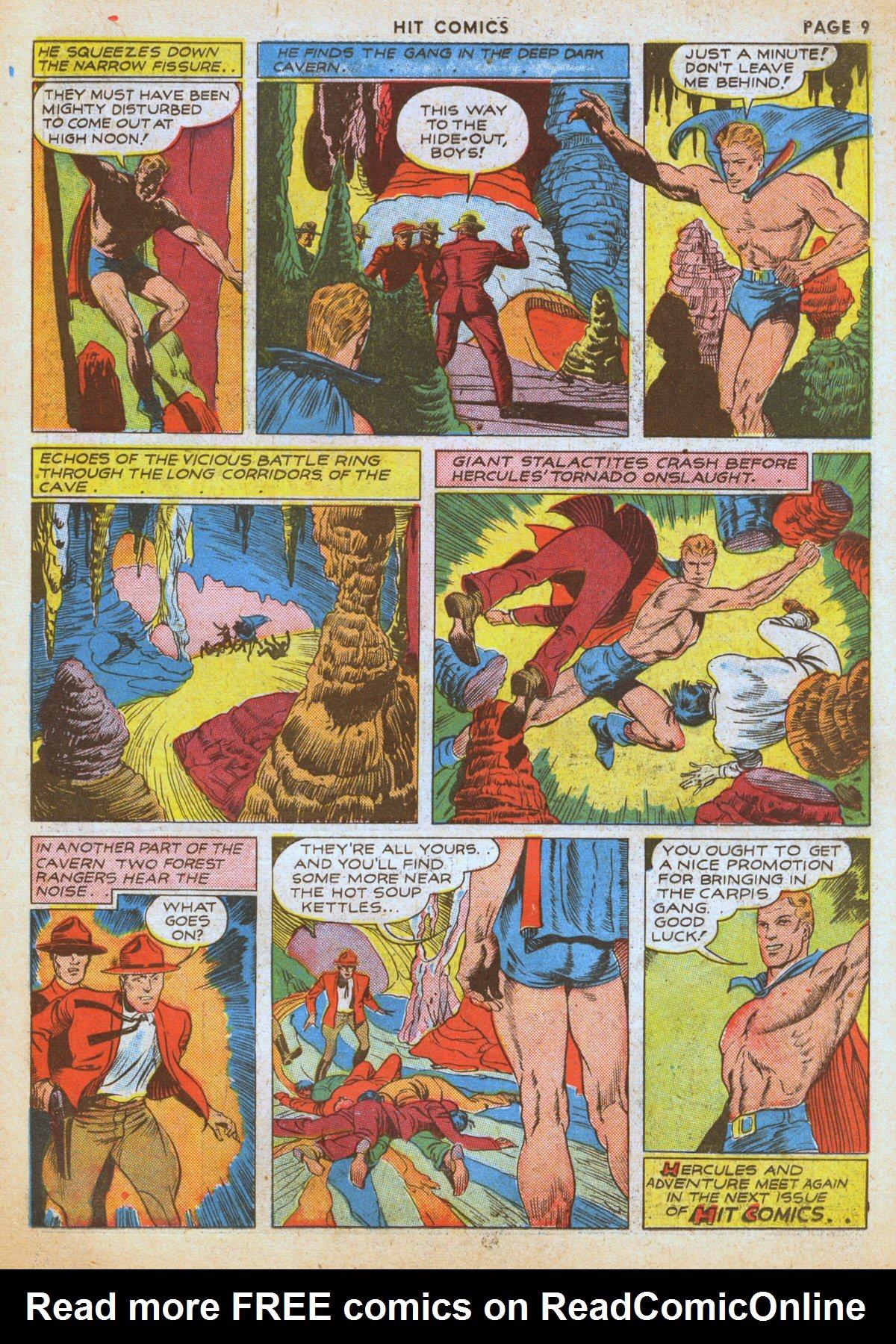 Read online Hit Comics comic -  Issue #12 - 11