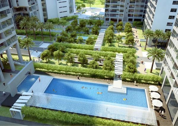 Tiện ích căn hộ Sài Gòn Intela