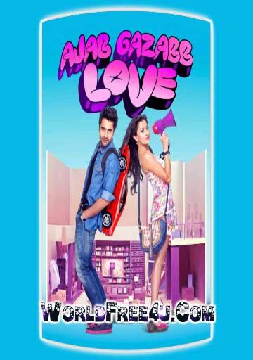 Poster Of Hindi Movie Ajab Gazabb Love (2012) Free Download Full New Hindi Movie Watch Online At worldfree4u.com