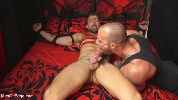Jay Austin Hot new stud with a beautiful cock gets edged and fucked to cum!