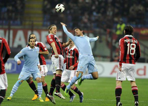 DIRETTA Lazio-Milan Streaming Rojadirecta, come vederla Gratis Video Live.