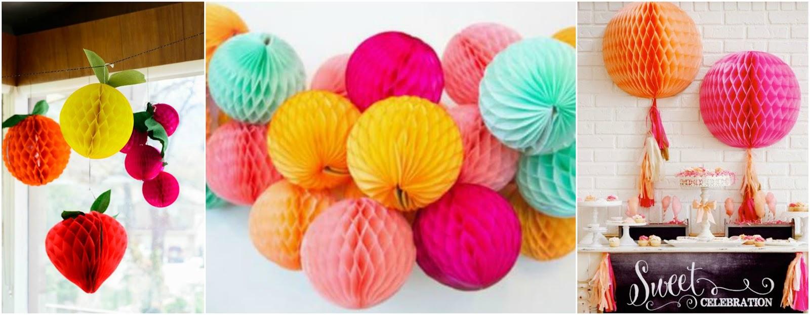 C mo hacer bolas de papel para decorar en cumplea os - Como hacer un photocall cumpleanos ...